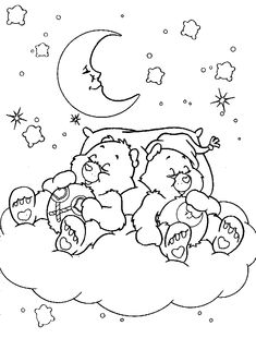 ~~pinned from site directly~~ . . .  Care Bears - 999 Coloring Pages