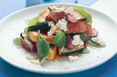 Chargrilled lamb salad