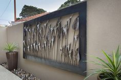 122 Best Outdoor Wall Art Images Metal Art Handmade Crafts