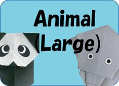 animal's origami
