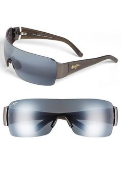 173aa7f61b Men s Maui Jim  Honolulu  136mm Shield Sunglasses - Gunmetal Maui Jim