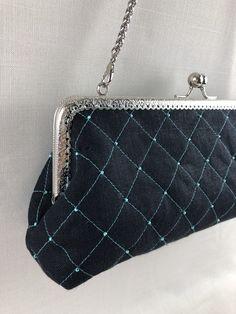 Handmade evening clutch Coin Purse, Wallet, Purses, Handmade, Design, Handbags, Hand Made, Coin Purses, Handmade Purses