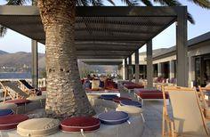 katavothres Greece Wedding, Next Holiday, Beach Club, Holiday Destinations, Reception, Rest, Interiors, Bar, Outdoor Decor