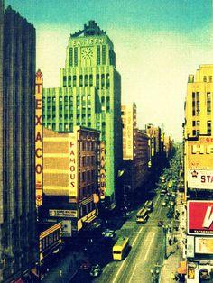 1930's Los Angeles, California linen postcard.