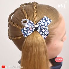 Easy Toddler Hairstyles, Easy Little Girl Hairstyles, Baby Girl Hairstyles, Cute Hairstyles, Children Hairstyles, Halloween Hairstyles, Style Hairstyle, Hairstyles 2018, School Hairstyles