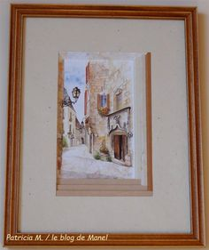 Patricia M. /élève de Manel / biseaux en escalier Blog, Frame, Painting, Life, Home Decor, Art, Picture Frame, Art Background, Decoration Home