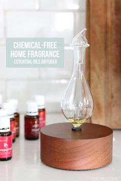 Chemical Free Home Fragrance - Essential Oils Diffuser