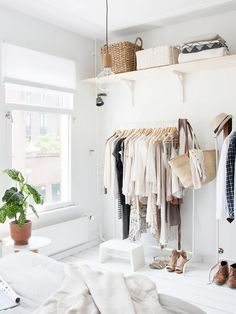 The IKEA clothing rack every stylish girl needs to make their home fashionable.