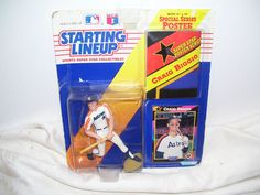 Craig Biggio 1992 starting lineup in original package.