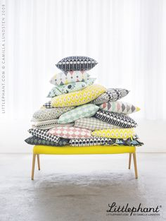 Our decoration cushions have great quality and shape. The pillows are fi rm but still cosy so they will stay stylish while using them. They let you feel just as comfortable sitting on the floor as laying in your sofa.  www.littlephant.com