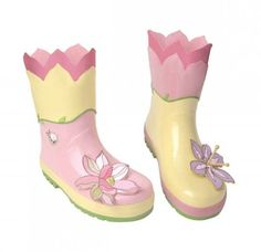 CHILDS TINKERBELL PINK WELLINGTON