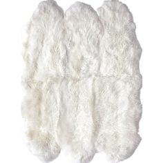 ShagNatural Sexto Pelt Sheepskin Rug ❤ liked on Polyvore featuring home and rugs