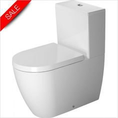 Duravit - ME By Starck Toilet Close Coupled 650mm