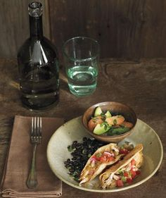 Chicken Tacos With Avocado and Grapefruit Salad   These fast and festive…