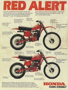 1979 Honda CR Advertisement