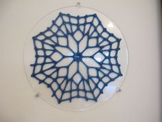 Glass lace work