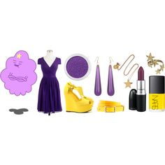 """Lumpy Space Princess"" by skittyy on Polyvore"