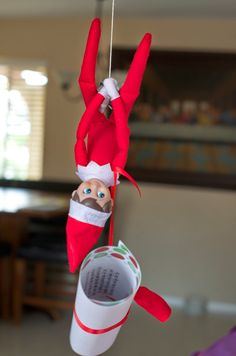 Elf on the Shelf Arriving Ideas