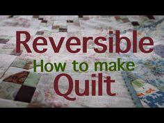 リバーシブルキルトの作り方 /ミシン使用 /size 105cmx105cm - YouTube Quilt As You Go, Quilt Making, Youtube, Quilts, Stitch, Sewing, How To Make, Scrappy Quilts, Quilt