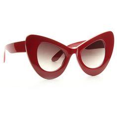 8b1a5a7a43 Amber Rose Style Oversized Cat Eye Celebrity Sunglasses