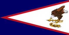 1960, Flag of American Samoa (USA) #AmericanSamoaFlag #AmericanSamoa (L4092)