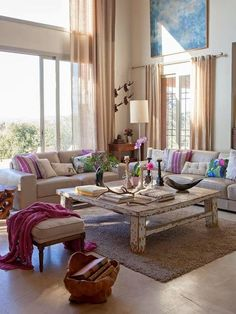 50 Refreshing Living Room Design Ideas - Home Decor Home Living Room, Living Room Designs, Living Room Decor, Living Spaces, Living Area, Elegant Home Decor, Elegant Homes, Living Room Inspiration, Home Decor Inspiration