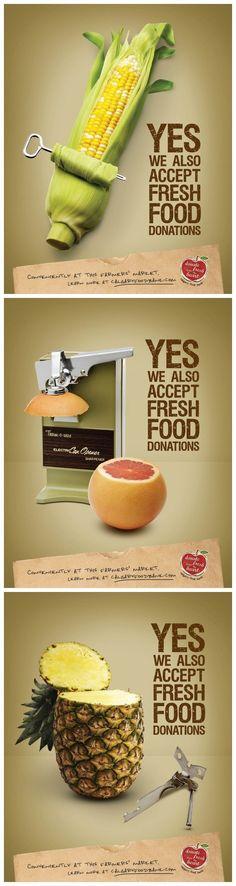 卡尔加里粮食银行-公益平面广告                                                                                                                                                                                 More