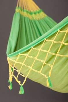 #beautiful #handcrafted #fringes: a typical trademark of #high-quality #hammocks from #Brazil