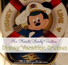 Disney Vacation Cruises