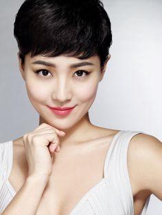 Pixie Haircut for Asian Women