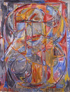 """colin-vian: """" Jasper Johns """""""