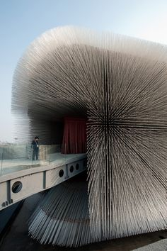 The Seed Cathedral by Thomas Heatherwick