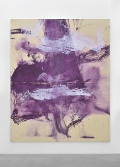 JULIAN SCHNABEL The Day I Missed, 1990 Oil, gesso on tarpaulin, 243,8 x 193 cm