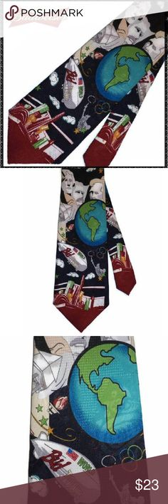 974beafebcc1f BUDWEISER Necktie VINTAGE 1996 WORLD TOUR New NWT A Budweiser official  product, this tie is new with tag. Design Vintage A great gift for a  bartender, beer ...