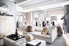 LUXURY INTERIOR DESIGN PROJECTS | Ryan Korban inspired modern interiors , a great selection of luxury furniture |http://bocadolobo.com/ #interiordesignprojects #moderninterior