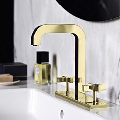 15 exclusive finishes are produced at the Axor manufacturing department, for example the polished gold finish. Hansgrohe United Kingdom
