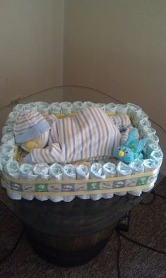 Baby sleeping (Diy Baby Gifts)