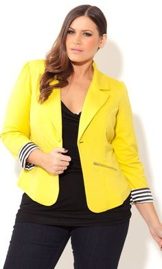 Plus Size Blazer Jackets