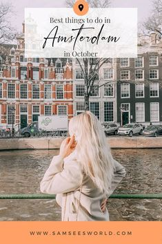 10  amazing things to do in Amsterdam in October. Explore this stunning Dutch city in the Fall and see the beauty of Amsterdam when the leaves change colour, and the weather gets cozy. #Travel #Amsterdam #Tips Amsterdam Itinerary, Amsterdam City Guide, Amsterdam Travel, Europe Travel Guide, Asia Travel, Travel Guides, European Destination, European Travel, Change Colour