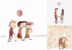 Tocante animação usa balões como metáfora para relacionamentos