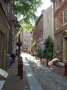 Elfreth's Alley  2nd Street, Between Race and Arch, Philadelphia, PA 19106  Activities: City walk sightseeing, Walking  Description: America's oldest residential street was built in 1702 and is now designated a National Historic Landmark.