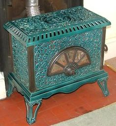Wood-burning Stoves & Fireplaces on Pinterest | Stove, Wood Burning