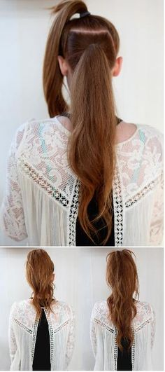 Magical Long Ponytail Trick