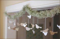 Ideia para decoração do casamento