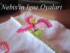 İğne Oyası Pervane Çiçeği Yapılışı - Moda Yeni | Moda - Havlu kenarı modelleri - iğne oyası