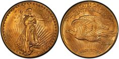"""This 1927 """"Double Eagles"""" coin will be displayed for the first time in public during the September 2014 Long Beach Expo. Photo courtesy of PCGS."""