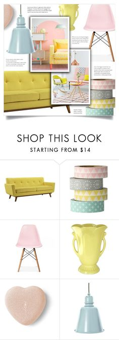 """""""Untitled #678"""" by metalhippieprincess ❤ liked on Polyvore featuring interior, interiors, interior design, home, home decor, interior decorating, Bloomingville, Ciel, AERIN and Sebra"""