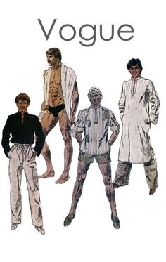 Vintage 1980s McCalls 7990 Mens Swimsuit by DesignRewindFashions, $18.00