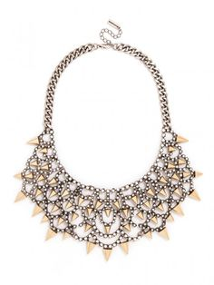 Gothic Fang Bib Necklace