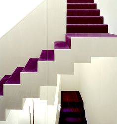 Escalera de terciopelo #Escaleras_decoradas #Decorated_stairs